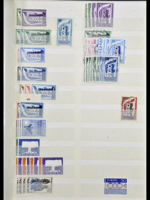 Featured image of Stamp Collection 34308 Europa CEPT 1956-2000.