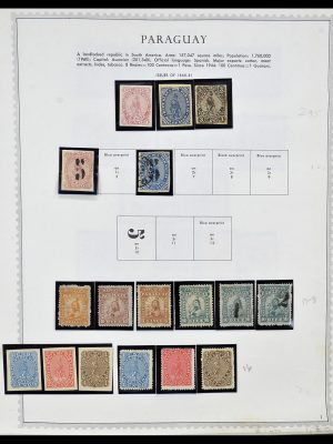 Featured image of Stamp Collection 34310 Paraguay 1868-1993.