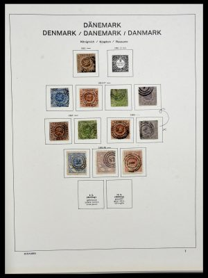 Featured image of Stamp Collection 34312 Scandinavia 1855-1965.