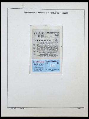Featured image of Stamp Collection 34313 Scandinavia 1856-1990.