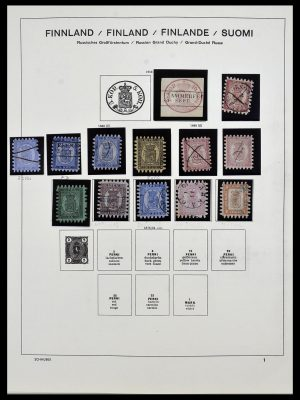 Featured image of Stamp Collection 34321 Finland 1856-1999.