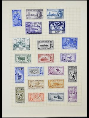 Featured image of Stamp Collection 34331 British colonies 1937-1995.