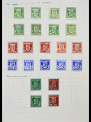 Featured image of Stamp Collection 34337 Guernsey and Alderney 1940-2018!