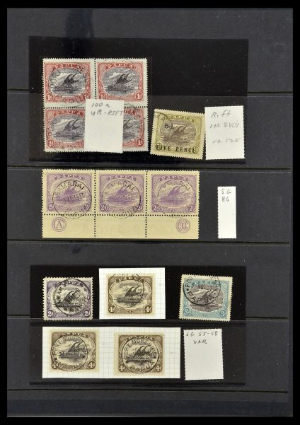 Featured image of Stamp Collection 34374 Papua 1907-1931.